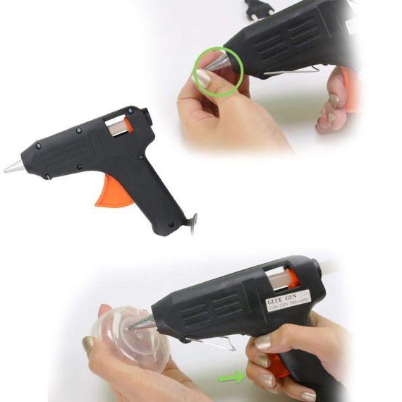 0568 Hot Melt Glue Gun (60 watts) - DeoDap