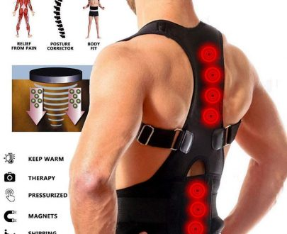 0388 Real Doctor Posture Corrector (Shoulder Back Support Belt) - DeoDap