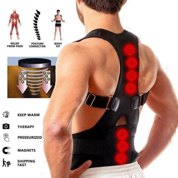 0388 Real Doctor Posture Corrector (Shoulder Back Support Belt) - DeoDap