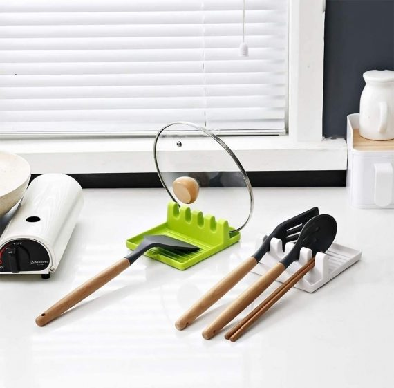 2121 Multi-Functional Spatula Holder/Rest for Kitchen Utensils - DeoDap