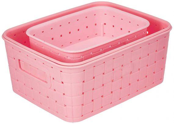 0062 Smart Baskets for Storage(Set of 3) - DeoDap