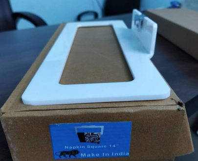 0699 Kitchen/Bathroom Square Napkin Toilet Paper Holder - 14 inch - DeoDap
