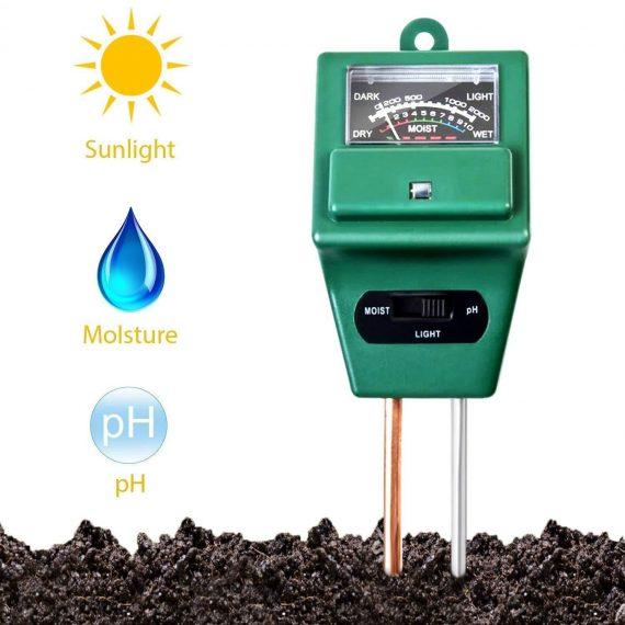 0605 -3 Way Soil Meter (pH Testing Meter) - DeoDap