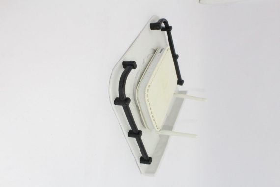 3602 Plastic Setup Box Stand/Wall Mount and Remote Holder - DeoDap