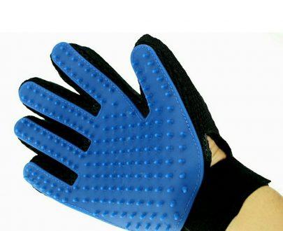 0614 True Touch 5 Finger Deshedding Glove (1 pair) - DeoDap