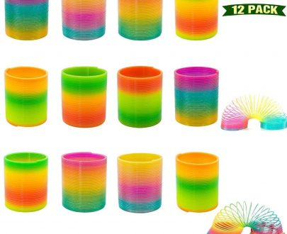 0871 Rainbow Magic Slinky Spring Toy (Pack of 12) - DeoDap