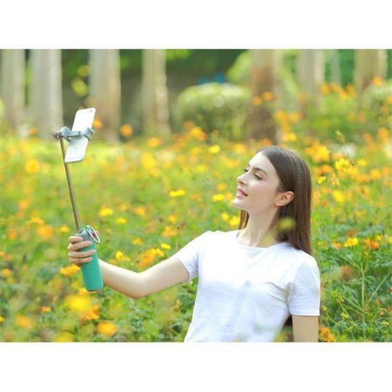 0290 -4 In 1 Selfie Stick with Bluetooth Speaker & Power Bank - DeoDap