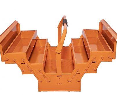 0501 Metal 5 Compartment Tool Box - DeoDap