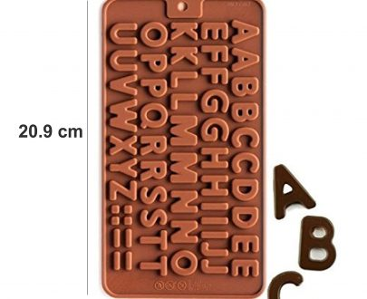 3308 Alphabet Birthday Silicone Chocolate Mold Candy - DeoDap