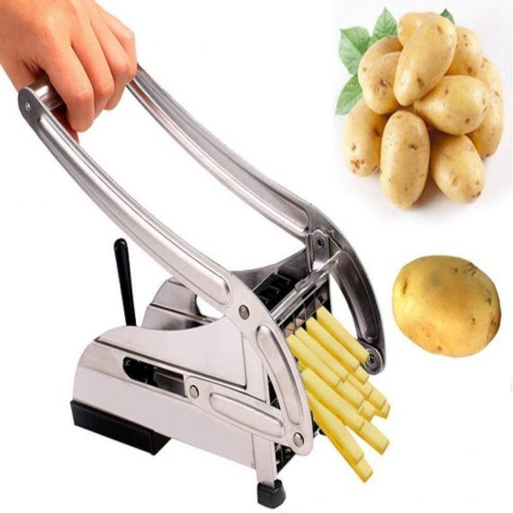 083 Stainless Steel French Fries Potato Chips Strip Cutter Machine - DeoDap