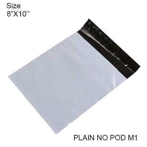 0911 Tamper Proof Courier Bags(8X11 PLAIN NO POD M1) - 100 pcs - DeoDap