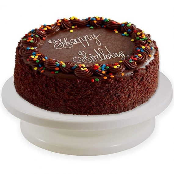 2099 Rotating Cake Stand for Decoration and Baking - DeoDap