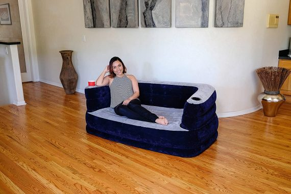 0899 Multi-Functional Inflatable Sofa Air Bed Couch - DeoDap