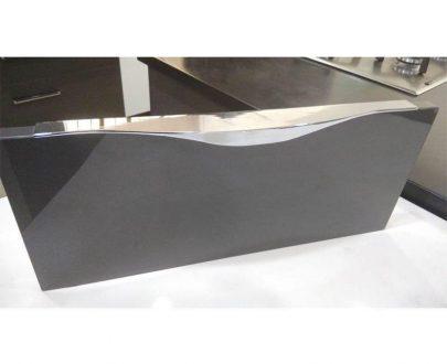 0482_Aluminium Profile Handle, 12Inch (Silver) - DeoDap
