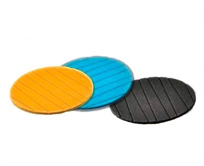 2127 Coasters Round Heat Resistant Pads Flexible for Home Kitchen Tools Tableware (3 pack) - DeoDap