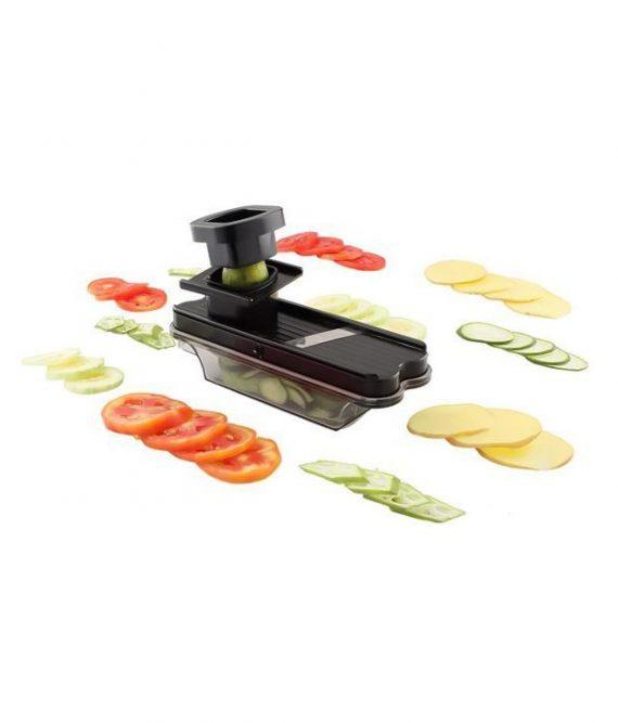 0117 Stainless Steel Vegatable and Dry Fruit Slicer/Cutter - DeoDap
