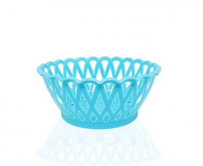 2088 Multipurpose Round Storage Plastic Basket Tray (3pcs) - DeoDap