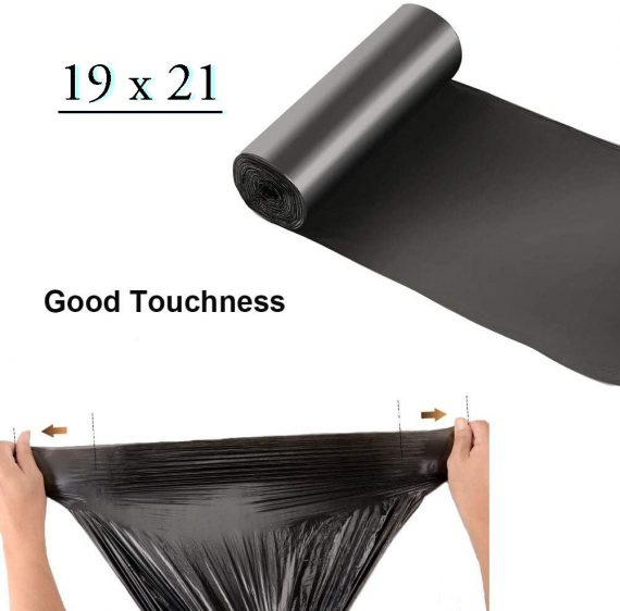 1504 Disposable Eco-friendly Garbage/Dustbin/Trash Bag (Pack of 30) (Size 19X21) - DeoDap