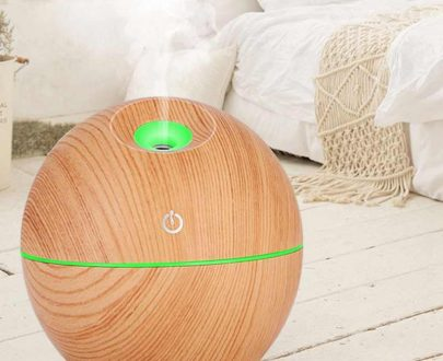 0366 Wood Grain Humidifier Ultrasonic Air Humidifier - DeoDap