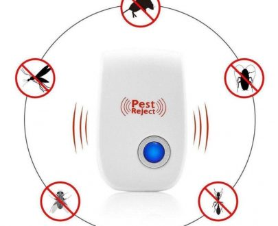 1260 Ultrasonic Pest Repeller to Repel Rats, Cockroach, Mosquito, Home Pest & Rodent - DeoDap