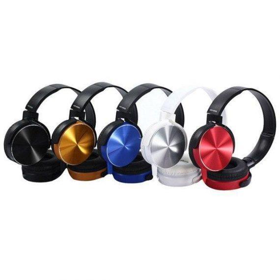 0306 Extra Bass Stereo Headphone with Mic (3.5 mm Jack) - DeoDap