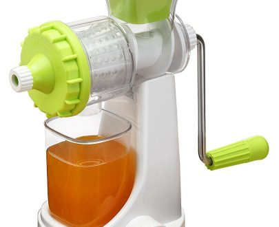 0140 Plastic Multipurpose Manual Juicer (Green) - DeoDap