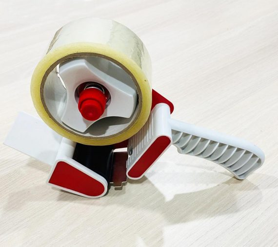 1522 Hand-Held Packing Tape Dispenser with Retractable Blade for Tape - DeoDap