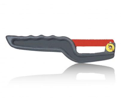 0536 Mini Hacksaw Compact Hand Hack Saw Metal Frame With metal Blade - DeoDap