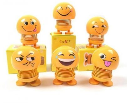 0602 Emoticon Figure Smiling Face Spring Doll - DeoDap