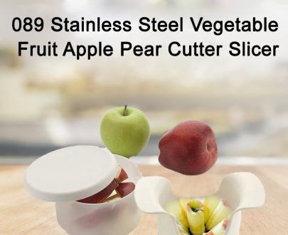 089 Stainless Steel Vegetable Fruit Apple Pear Cutter Slicer - DeoDap
