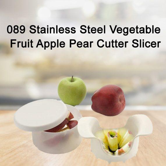 089 Stainless Steel Vegetable Fruit Apple Pear Cutter Slicer - DeoDap