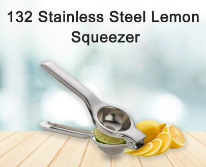 0132 Stainless Steel Lemon Squeezer - DeoDap