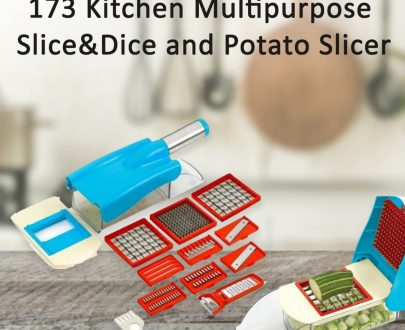 0173 Kitchen Multipurpose Slice&Dice and Potato Slicer - DeoDap