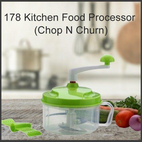 0178 Kitchen Food Processor (Chop N Churn) - DeoDap