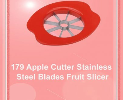 0179 Apple Cutter Stainless Steel Blades Fruit Slicer - DeoDap