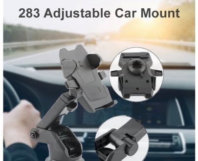 0283 Adjustable Car Mount (Multicolour) - DeoDap