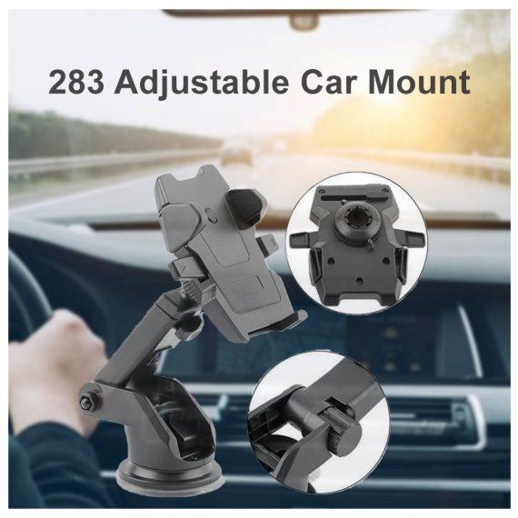 0283 Adjustable Car Mount (Multicolour) - DeoDap