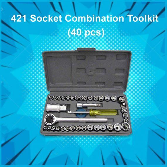 0421 Socket Combination Toolkit (40 pcs) - DeoDap