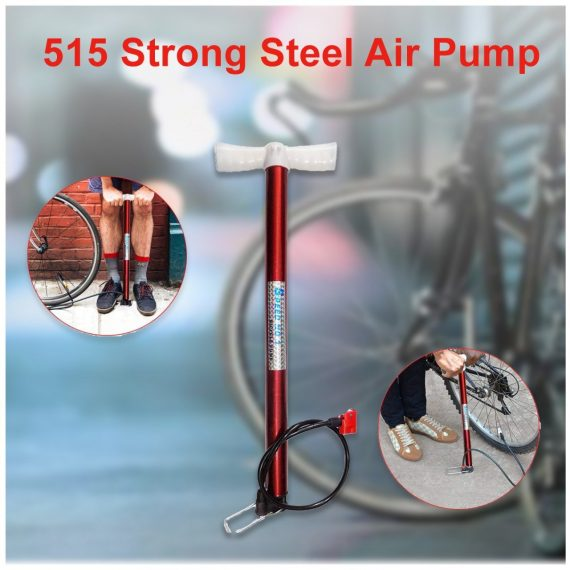 0515 Strong Steel Air Pump - DeoDap