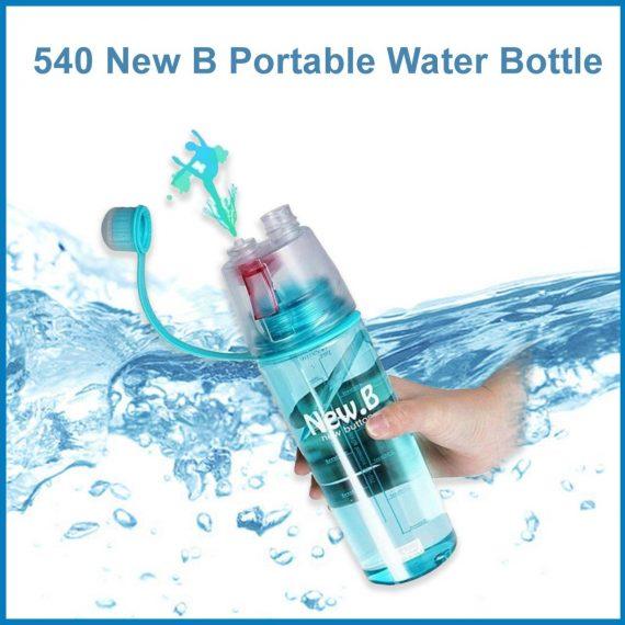 0540 New B Portable Water Bottle - DeoDap