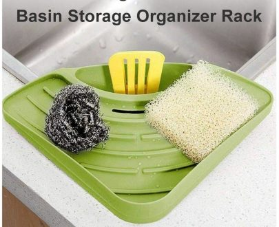 0861 washing strainer-Wash Basin Storage Organizer Rack - DeoDap