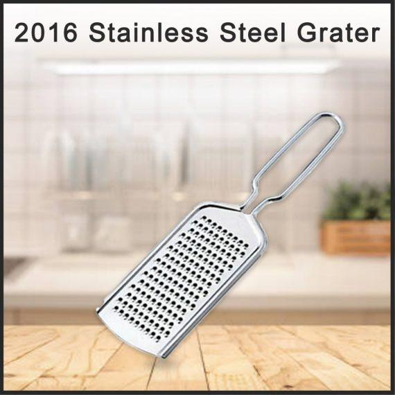 2016_Stainless Steel Grater Nutmeg Cheese Citrus Zest Zester Grater - DeoDap