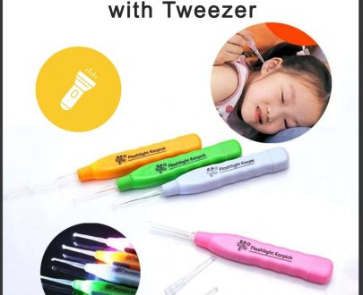 0611 LED Flashlight Earpick with Tweezer - DeoDap