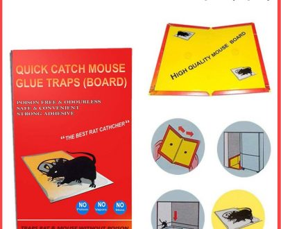 0203 Red Mice Glue Traps (1pc) - DeoDap