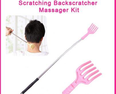 0345 Scratcher Back Telescopic Scratching Backscratcher Massager Kit - DeoDap