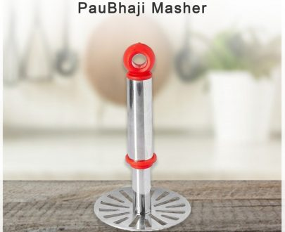 0586 Stainless Steel Potato Masher, PauBhaji Masher - DeoDap