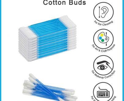 0337 Hygeinic, Soft and Gentle Cotton Buds (100pcs, 200 Swabs) - DeoDap