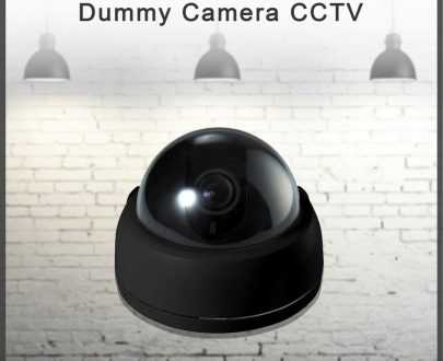 0346 Wireless Home Security Dummy Camera CCTV - DeoDap