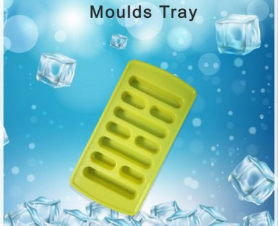 0784 Plastic Ice Cube Moulds Tray - DeoDap