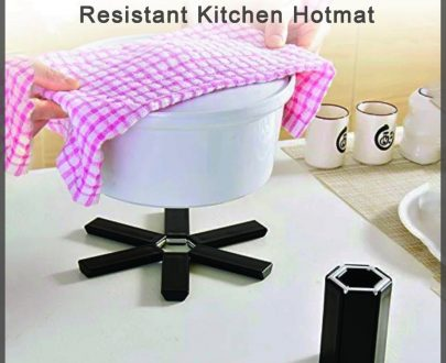 0775 Foldable Non-Slip Heat Resistant Kitchen Hotmat - DeoDap